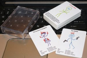 Dysfunctional Families demo cards printed by MPC with plastic box